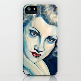 Ice lady iPhone Case