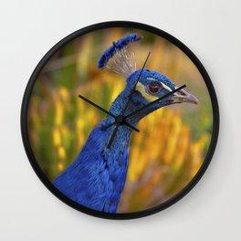 Azure Pea Wall Clock
