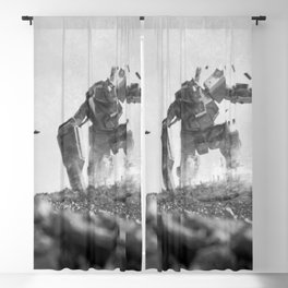 Okinawa Running Sniper Blackout Curtain