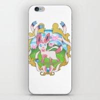 sylveon iPhone & iPod Skins featuring sylveon by XenonNero