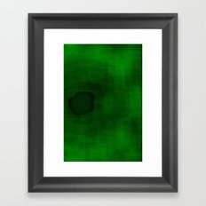 Green#3 Framed Art Print