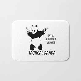 tactical panda Bath Mat