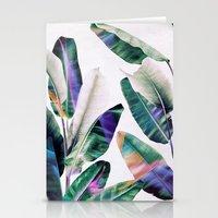 tropical Stationery Cards featuring tropical #1 by LEEMO
