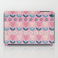 tulips iPad Cases featuring Tulips by Valendji