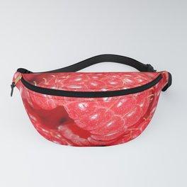 Red Raspberries Freshly Picked Fanny Pack