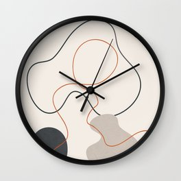 Abstract Minimal Art 23 Wall Clock