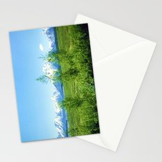 Spring Tetons Stationery Cards