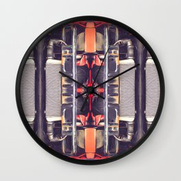 Abstract Mechanical Configuration Wall Clock