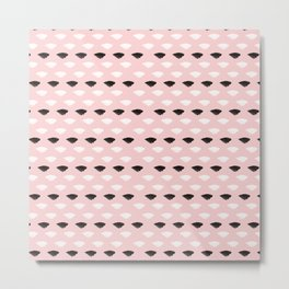 Blushed And Dainty Metal Print