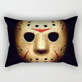 Friday 13th Jason Mask Rectangular Pillow