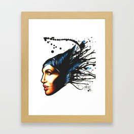 Visions Are Seldom All They Seem Framed Art Print