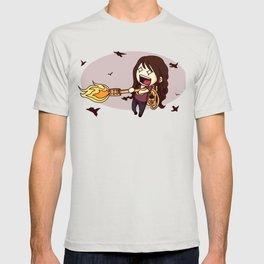 Bird Flaming T-shirt