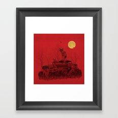 family guard Framed Art Print