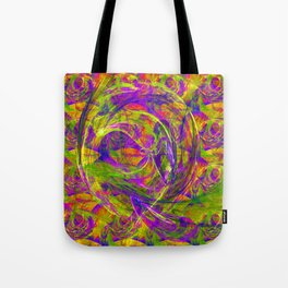 Emotions above light and shadows Tote Bag