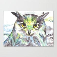 Dreamy Owl Canvas Print