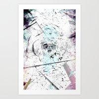 introvert Art Prints featuring Introvert by miguelnarayan
