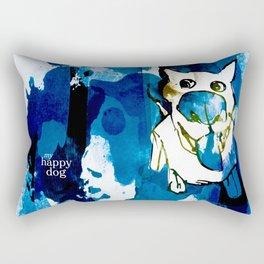 Citydog summergrunge Rectangular Pillow