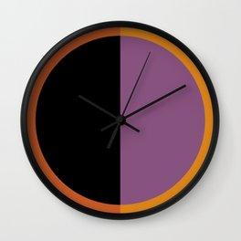 Color Block Abstract I Wall Clock