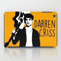 darren criss iPad Cases featuring Darren Criss with guitar! by byebyesally