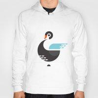 black swan Hoodies featuring Black Swan by ruudheijden