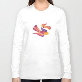 Shanti Sparrow: Daisy and Dawn the Sparrows Long Sleeve T-shirt