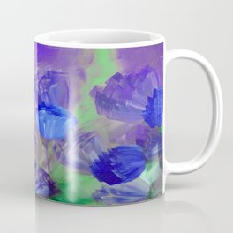 Breaking Dawn in Shades of Deep Blue and Purple Coffee Mug
