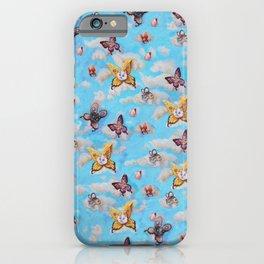 Cat Fairies print iPhone Case