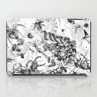 insects iPad Cases featuring Insects by Emile Denis