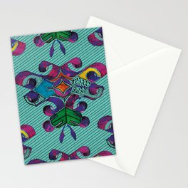 3 - Teal Stationery Cards