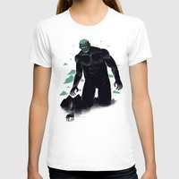 titan T-shirts featuring shadow of the titan by Louis Roskosch