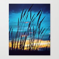 western Canvas Prints featuring Western Sky by Melanie Ann