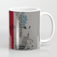 lincoln Mugs featuring Lincoln by TheMaddhattR