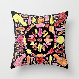 Crystal Bandana Warm Throw Pillow