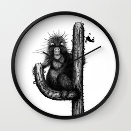 Prickly Porcupine ft. Bird Wall Clock