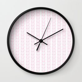 Friendly Cats Wall Clock