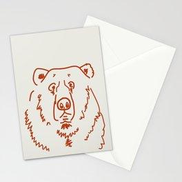 Befuddled Bear Stationery Cards