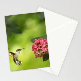 Hummer in Flight Stationery Cards