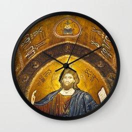 CHRISTUS PANTOKRATOR Wall Clock