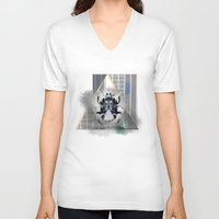egypt V-neck T-shirts featuring egypt by Gabriele Omar Lakhal
