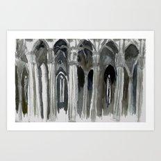 rain ghosts Art Print