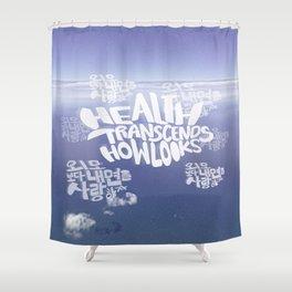 Health Transcends – Lavender Shower Curtain