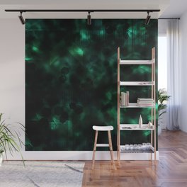 Digital Forest Cool Variant Wall Mural
