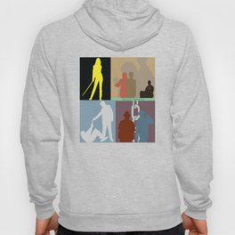 Quentin Tarantino Movie Collage Hoody