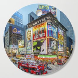 Times Square III Special Edition I Cutting Board