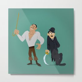 Fairbanks & Chaplin Metal Print