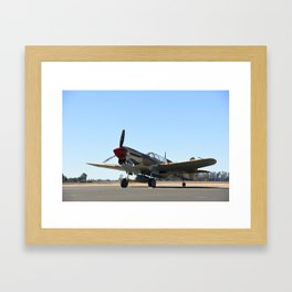 P-40 Trainer Framed Art Print