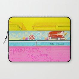 Graffiti Beach Laptop Sleeve