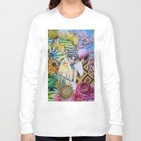 cherry blossom Long Sleeve T-shirts featuring Cherry Blossom by John Turck
