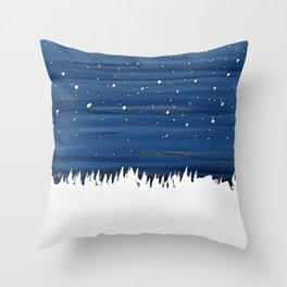 Essence of freeze Throw Pillow