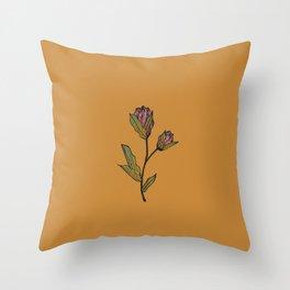 Rose & Thistle Throw Pillow